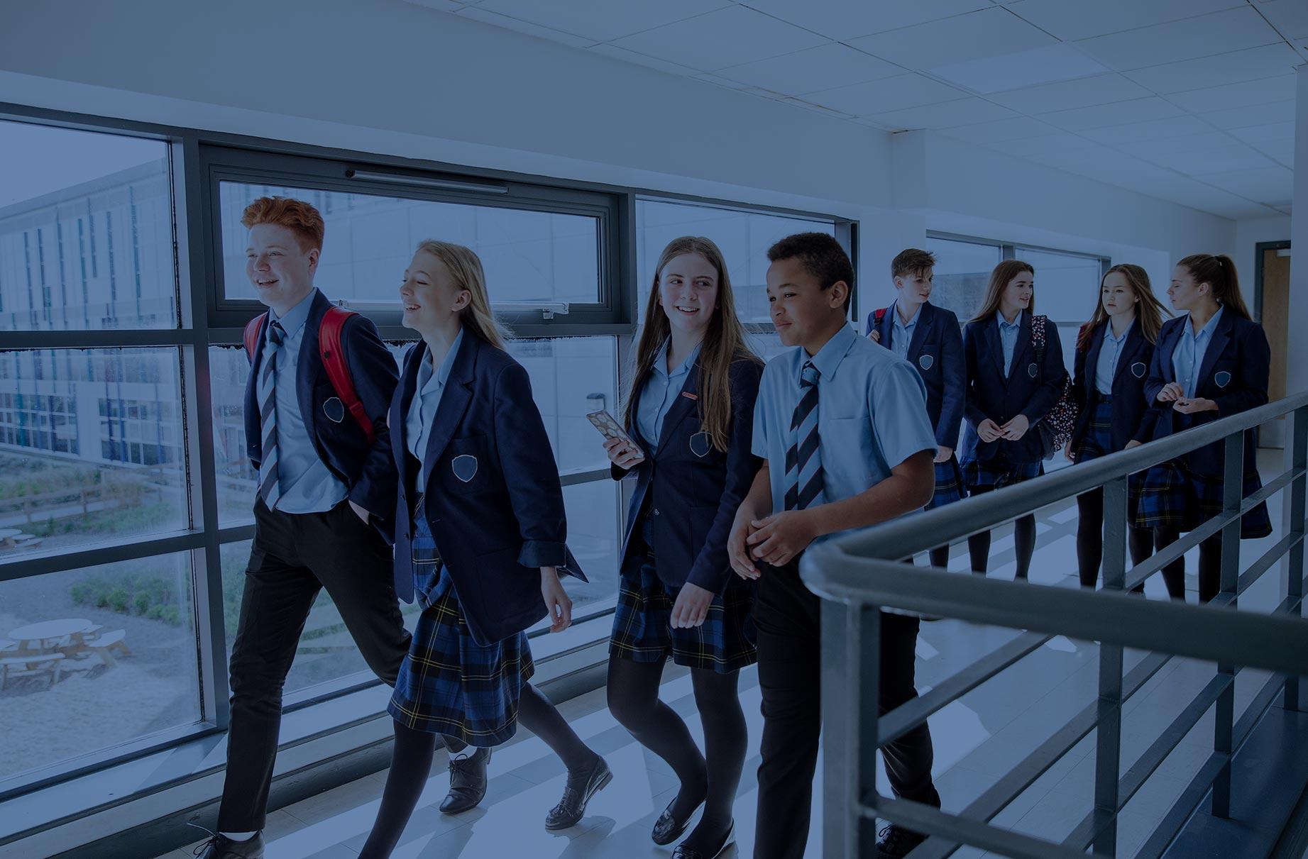 Education Blue Image